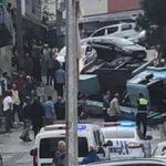 Trabzon'da korku dolu anlar!