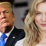 Ünlü Victoria Secret modeli Trump'la elti oldu