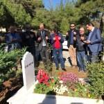 Gazeteci Haytan mezarı başında anıldı