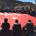 Karakeçili'de askere gidecek gençler için dua edildi