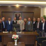 Yörükler, Kaymakam Kadiroğlu'nu ziyaret etti