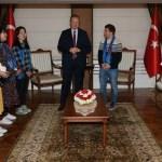 Güney Kore heyeti Trabzon Valiliğini ziyaret etti