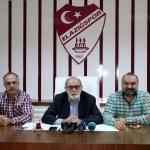 Elazığspor'da başkan ve yönetim istifasını açıkladı