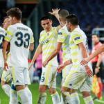 Fenerbahçe Belçika'da pes etmedi