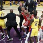 Lakers-Rockets maçındaki kavganın cezası kesildi