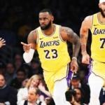 Lakers'ta LeBron dümene geçti!