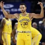 Stephen Curry'den üç çeyrekte 51 sayı
