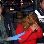 Yakalanan kadın suç makinesi çıktı!