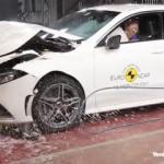 Yeni Mercedes A-Serisi çarpışma testinde!