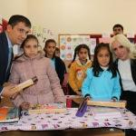 Diriliş Gençlik Federasyonu öğrencilere oyuncak dağıttı