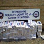 Kahramanmaraş'ta kaçak sigara operasyonu