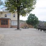 İnegöl'de Dömez Camisi'nin çevresi yenilendi