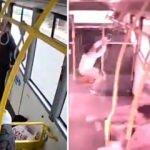 Ehliyetsiz sürücü otobüse çarptı! Yolcular...