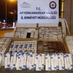 Afyonkarahisar'da kaçak sigara operasyonu
