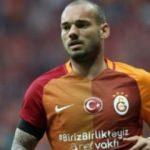 Wesley Sneijder'den derbi paylaşımı