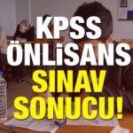 04 Kasım KPSS önlisans sınav sonucu! ÖSYM memurluk giriş sınavı detayları