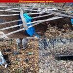 PKK'lı teröristlere ait 13 sığınak imha edildi