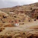 Ürdün'de sel! Petra Antik Kenti