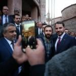 Bakan Albayrak'a Bursa'da yoğun ilgi