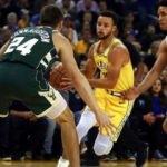 Milwaukee'den Warriors'a ağır darbe!