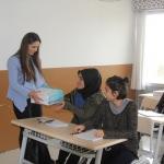 Öğrencilere kitap desteği