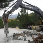 Uludağ'ın eteklerinde kaçak yapılaşmayla mücadele