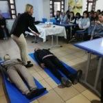 KYK'lı öğrencilere ilk yardım eğitimi verildi