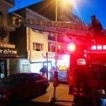 Kuşadası'nda ev yangını
