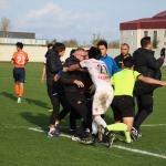 Samsun'da amatör lig maçında arbede