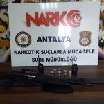 Antalya merkezli uyuşturucu operasyonu: 9 gözaltı