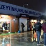 İstanbul'da kadın yolcu raylara atladı