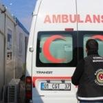 Suriye'den dönen ambulansta esrar ele geçirildi
