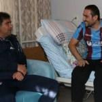 Trabzonspor'dan yaralı askerimize ziyaret