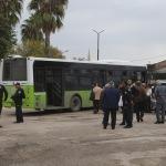 Adana'da kadın otobüs şoförüne darp iddiası