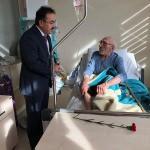 Sarıkaya Müftüsü Kandemir'den hasta ziyareti