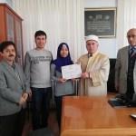 Denizli'de, Endonezyalı kadın İslam'ı seçti