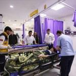 Malatya'da yolcu midibüsünün devrilmesi