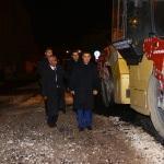 Kaymakam Mehmetbeyoğlu, yol çalışmalarını inceledi