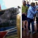 Dev derbi öncesi takım otobüsüne saldırı!