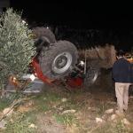 Hatay'da traktör devrildi: 1 ölü