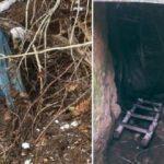 Terör örgütünün banyolu tuvaletli 6 odalı sığınağı