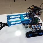 Kas hareketleriyle kontrol edilen bomba imha robotu geliştirdiler