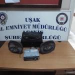 Uşak'ta 2 hırsızlık şüphelisi tutuklandı