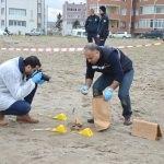 Sakarya'da sahilde insan kemikleri bulundu