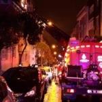 Bayrampaşa'da yangın! İtfaiye 5 kişiyi kurtardı