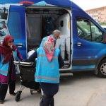 Beyşehir Belediyesi evde bakım hizmetleriyle örnek oldu