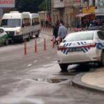 Kaldırıma park eden trafik polisine ceza!