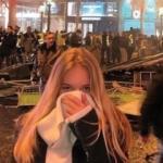 Paris'teki eylemlerde sürpriz isim