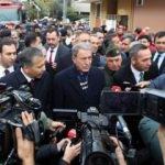 Savunma Bakanı Hulusi Akar, kaza bölgesinde!
