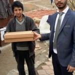 Belediyeden engelli vatandaşlara hediye